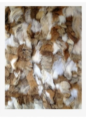 Coyote Fur Plate Throw Blanket Bedspread Rug Home Decor