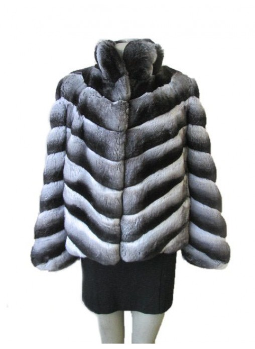 Chinchilla Fur Jacket Coat Women S