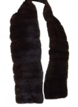 Men's Mink Fur Scarf Collar