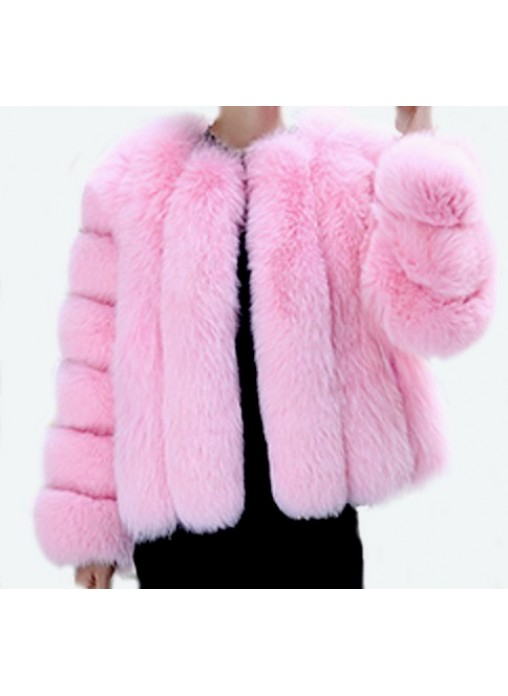Bubblegum Pink Coat Fashion Women S Coat 2017