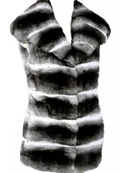 Chinchilla Fur Vest Women's