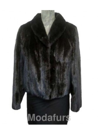 Mink Fur Coat Jacket Women's