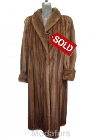 Mink Fur Coat American Legend SAMPLE SALE Sz 14/16 XL Women's SOLD!!