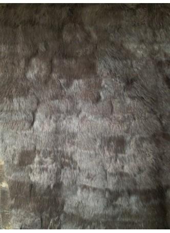 Rabbit Fur Reversible Plate Throw Blanket Bedspread Rug Home Decor